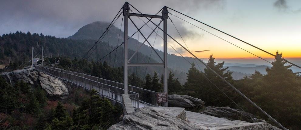 Bridge on Grandfather Mountain