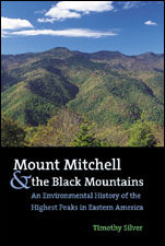 Mount Mitchell and the Black Mountains book cover